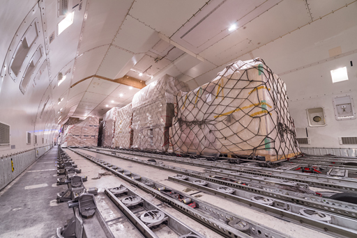 cargo-inside-plane